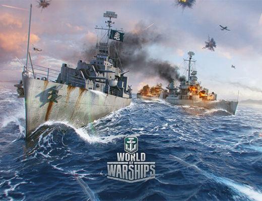 Корабли в игре World of Warships