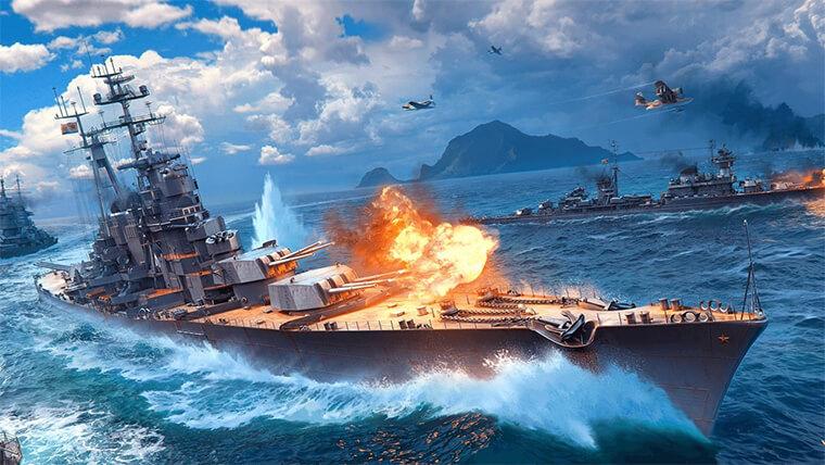 Онлайн игра Мир кораблей Wargaming