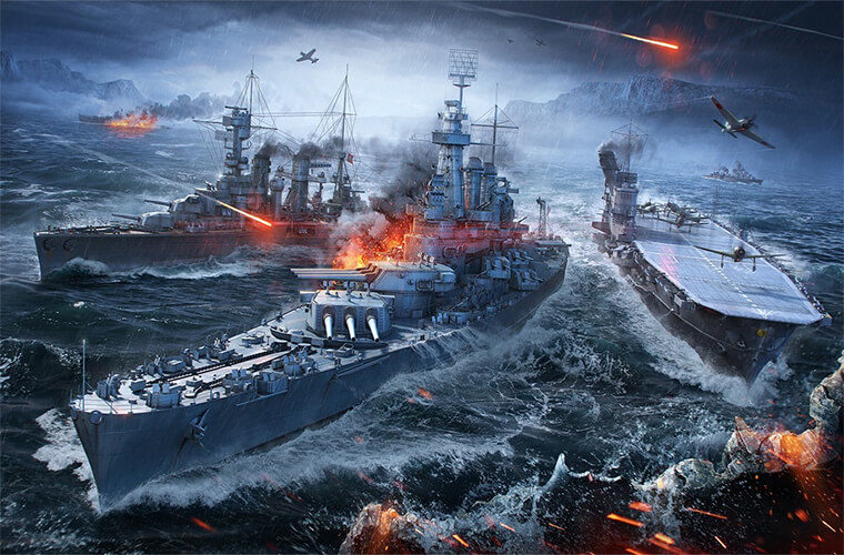 игровое событие «Морское сражение»