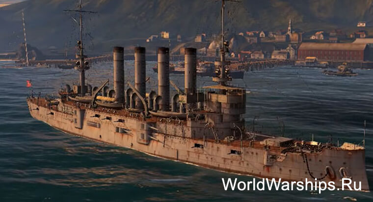 Американский крейсер St Louis