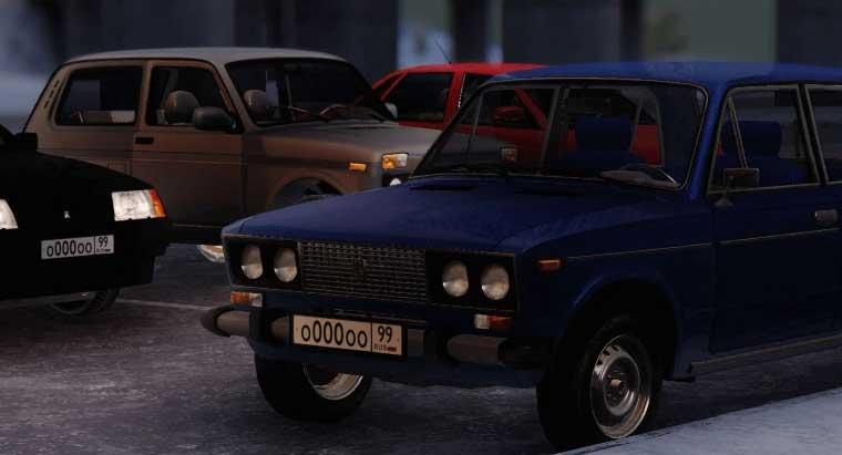 русские машины в игре nextrp