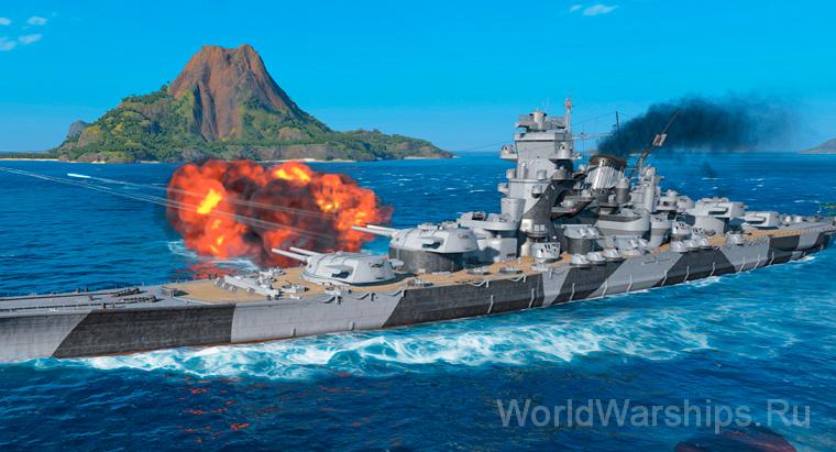 Генеральное сражение World of Warships