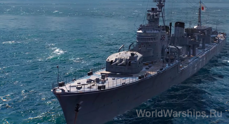 суперкорабли World of Warships